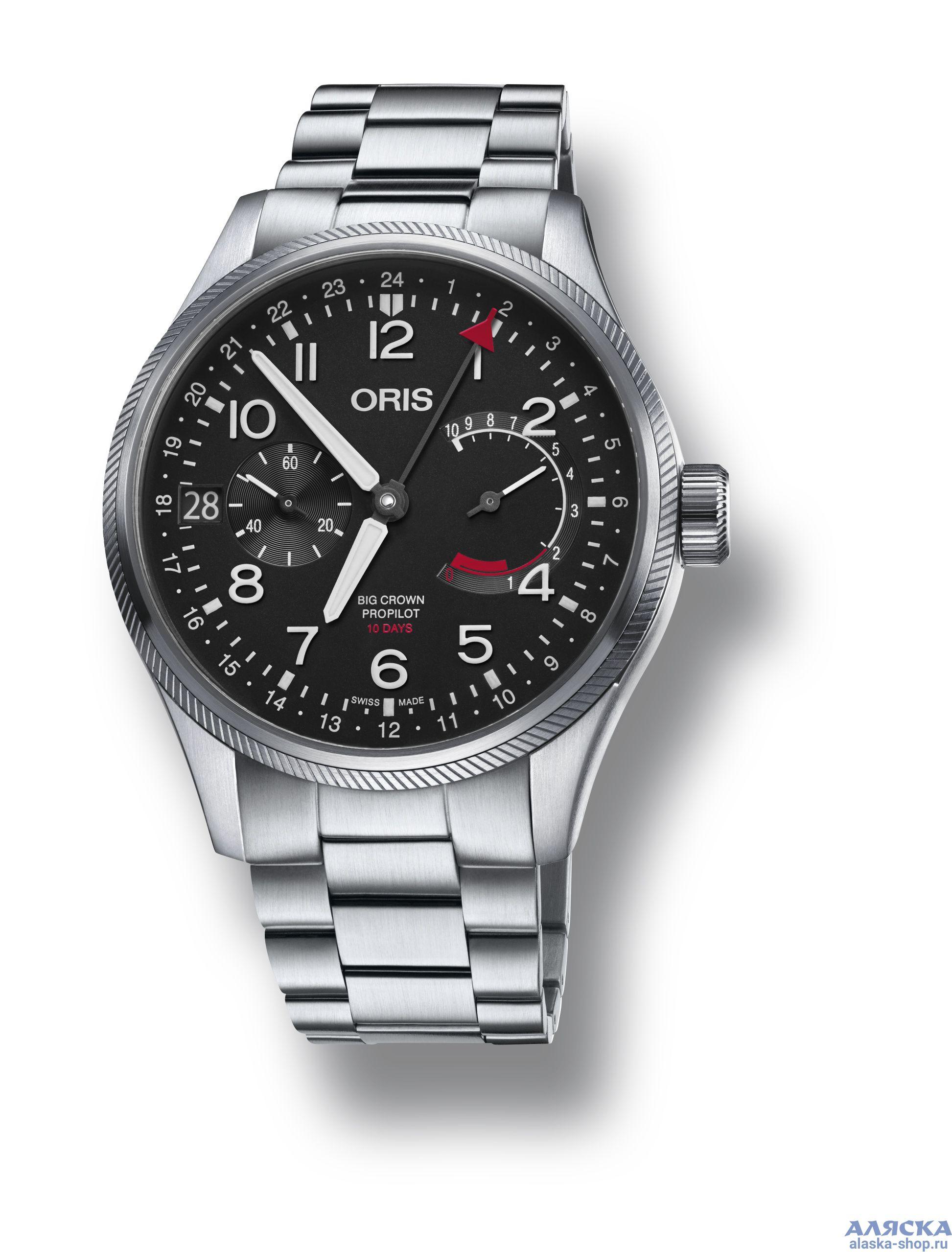 c235b908 Мужские наручные часы Oris 114 7746 4164 MB (Big Crown Propilot ...